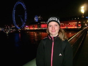 Selfie vid London Eye